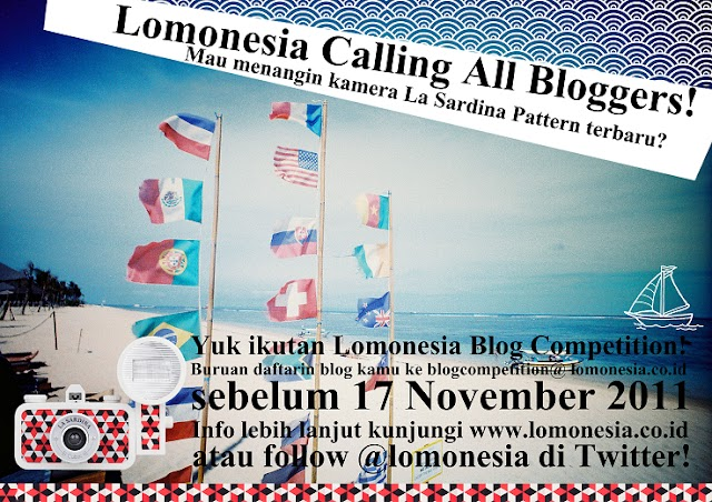 LOMONESIA CALLING ALL BLOGGERS
