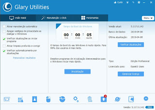 glary utilities pro 5117 2019 activation