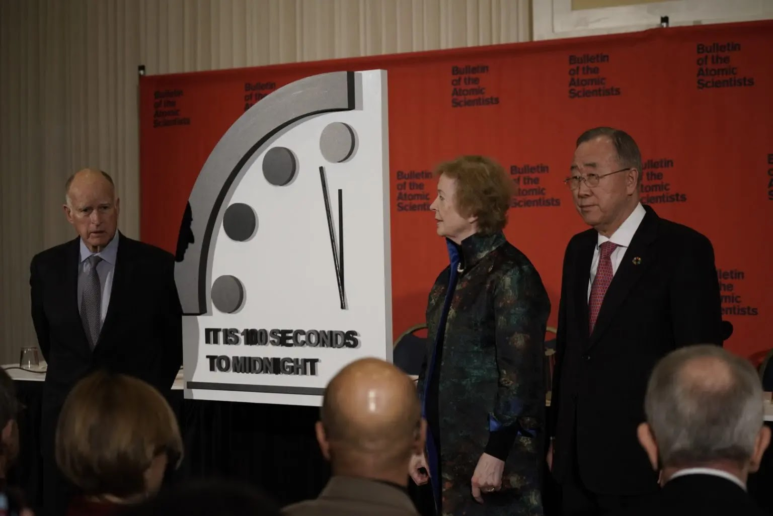 Doomsday Clock Moves Closest To Midnight