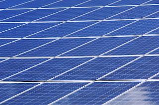 panel, surya, listrik, terapung, plts