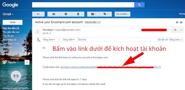 Hướng dẫn đăng ký và xác minh tài khoản ExCoinPro.com
