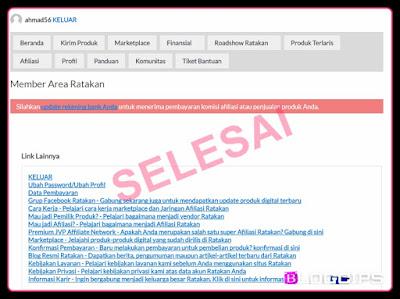 cara mendaftar sebagai affliasi di situs ratakan