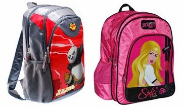 Flat 70% Off on School Bags (Price starts from Rs.271 Only)@ Flipkart