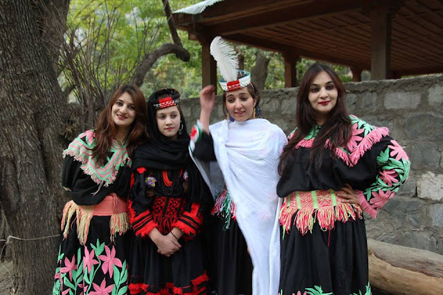 Kalash community celebrate 'Phool festival' in #Chitral
