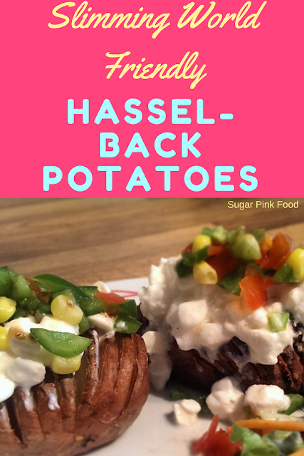 Hasselback Potatoes slimming world recipe