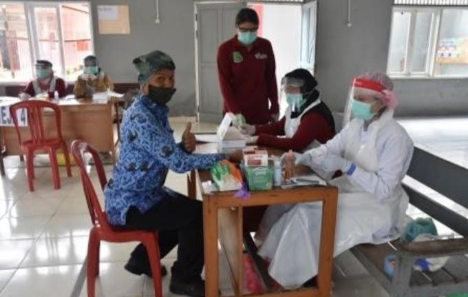 Rapid Test Massal di Rutan Kapuas, Warga Binaan Tak Boleh Dikunjungi