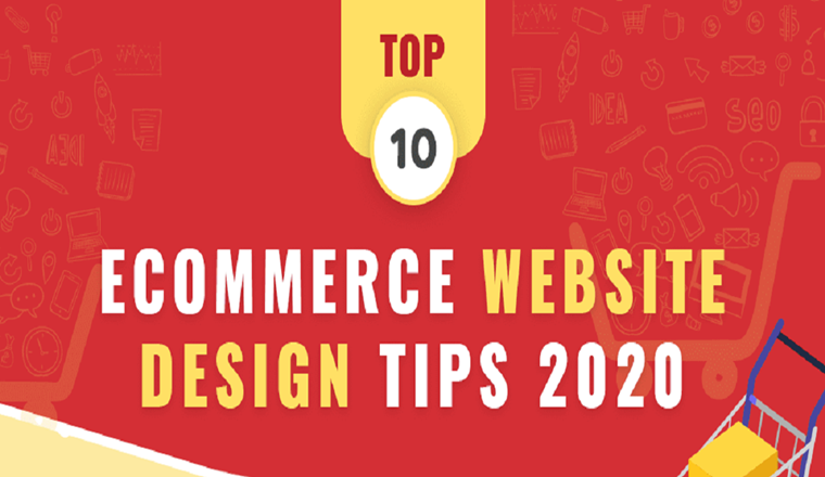 Top 10 Ecommerce Website Design Tips 2020 #infographic