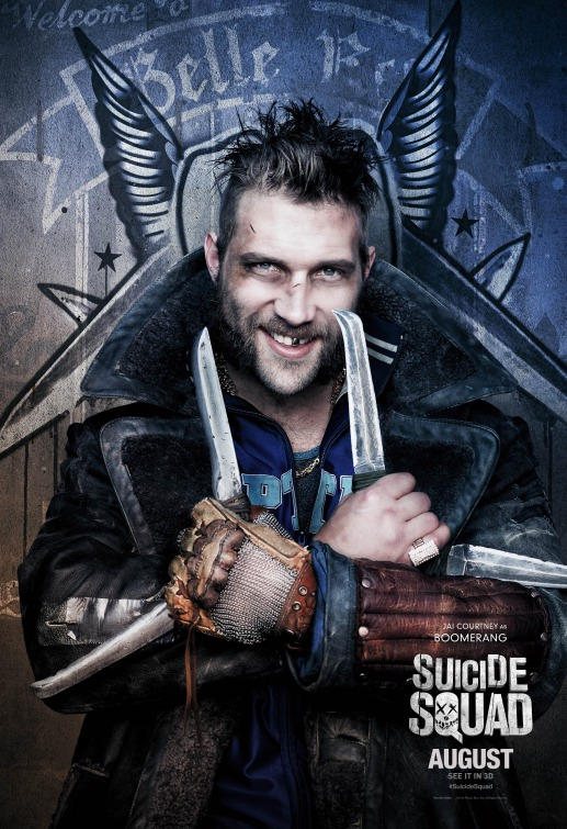 Boomerang Suicide Squad movie poster