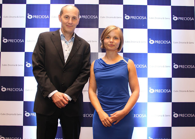 Mr.Lubos Petrzlka  (Sales Director) & Ms. Karolina Jonasovs- (Marketing Manager), Preciosa