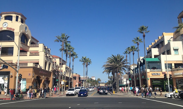 Compras no Downtown Beach em Huntington Beach