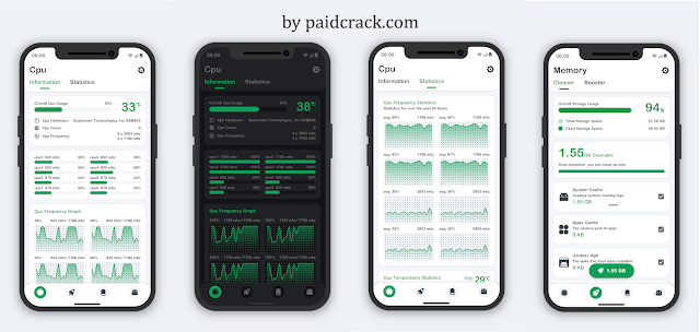 System Monitor 8.0.2 Paid Apk - Cpu, Ram Booster, Battery Saver