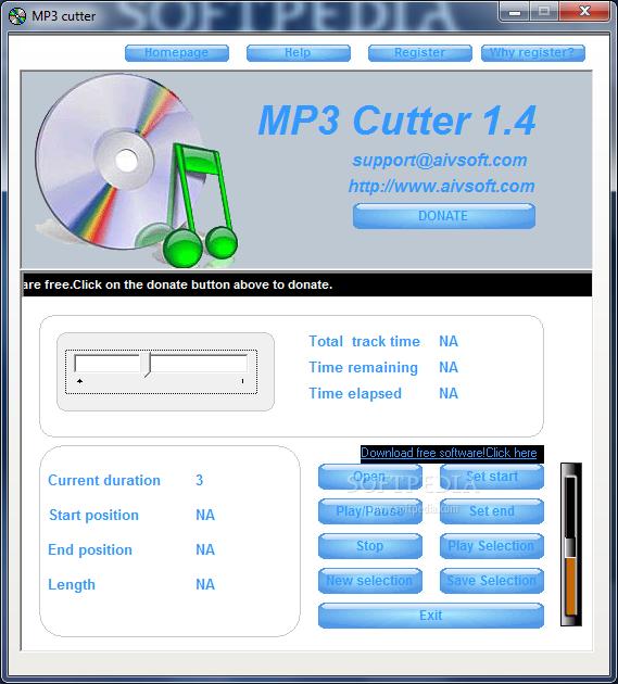 تحميل برنامج تقطيع الاغانى مجانا للكمبيوتر MP3 Cutter