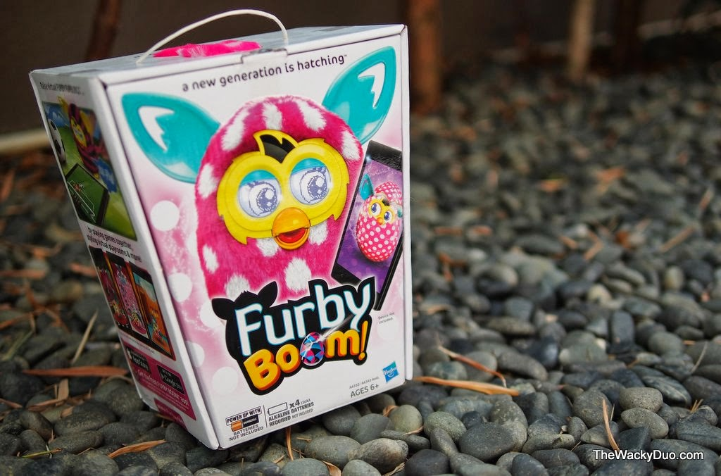 Say Hello to Furby Boom! | The Wacky Duo | Singapore Family