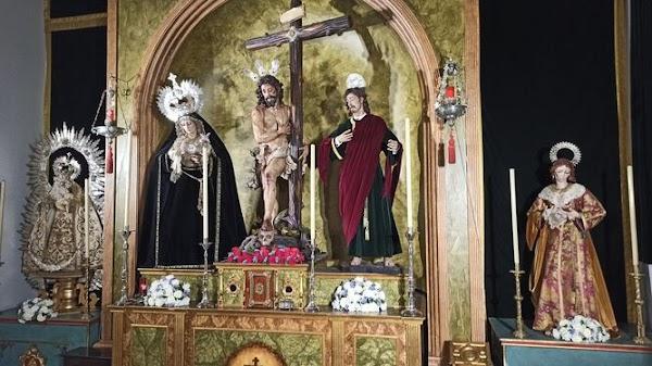 """La Hdad de Sol de Sevilla en """"cuarentena"""" tras la indisposición de su párroco"""