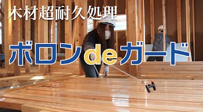 木材超耐久処理ボロンdeガード