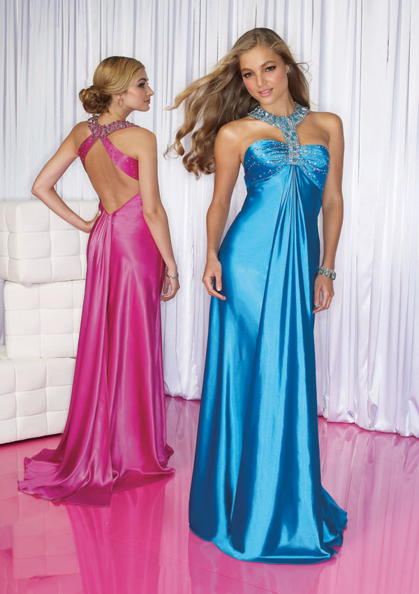 Kewtified: Long Elegant Prom Dresses Trends 2012