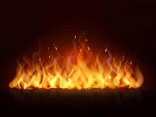 تفسير مشاهدة النار في حلم العزباء والمتزوجة