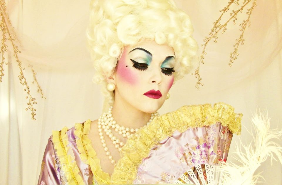 Style Of Your Own Halloween Marie Antoinette Makeup