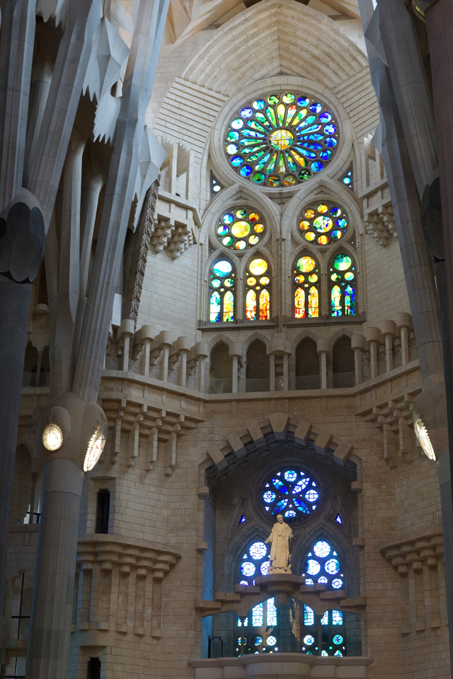 Barcelona Hello Freckles August Summer Travel Blogger City Break Spain Sagrada Familia Gaudi Architecture