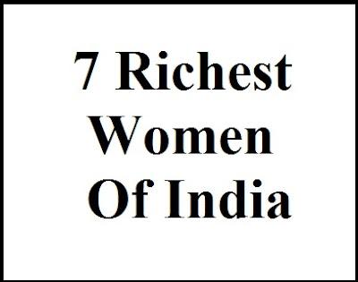 richest women, india, net worth