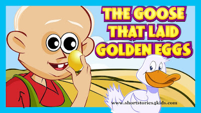 The Goose That Laid Golden Eggs Story with pictures and pdf