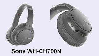 Sony WH-CH700N headphones specs