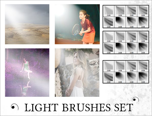 فرش تأثير الإضاءات لبرنامج فوتوشوب لتصميم أكثر واقعية