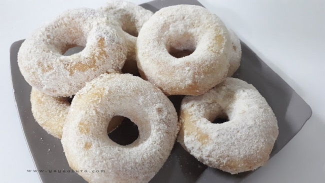 Resepi Donut Susu Gebu