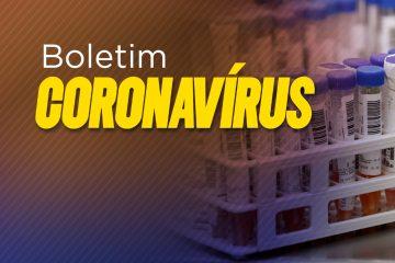 Boletim epidemiológico registra mais de 22 mil casos ativos por Covid-19