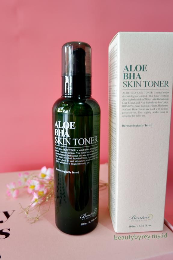 Review Benton Aloe BHA Skin Toner