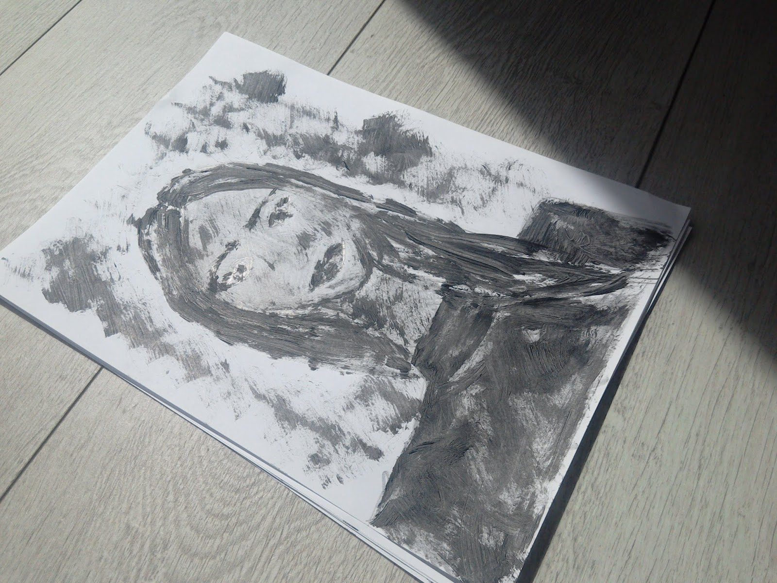 Pencil Drawings And Sketches+ Drawing With A Mascara: My Art Lately