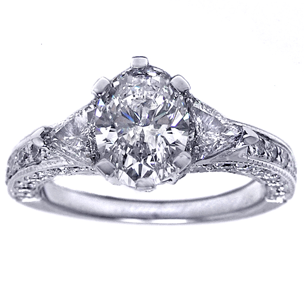 Diamond Engagement Ring, Symbolizes a Promise With The ...