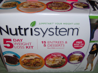 Look What Came in the Mail: Nutrisystem 5-Day Jumpstart Your Weight Loss Kit
