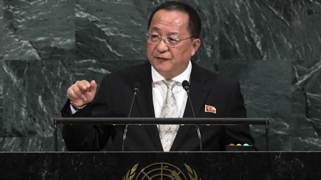 Donald Trump está en misión suicida, dice Corea del Norte ante ONU