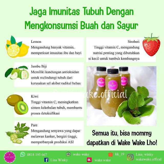 Tips Menjaga Imunitas Tubuh Dengan Buah dan Sayur