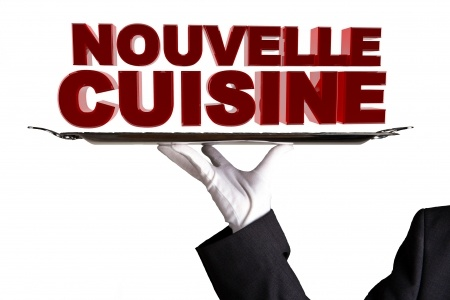 Behind the french menu nouvelle cuisine what ever for Nouvelle cuisine