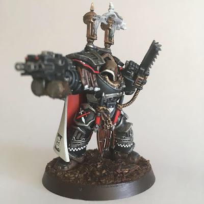 Dark Angels Master in Cataphractii armour