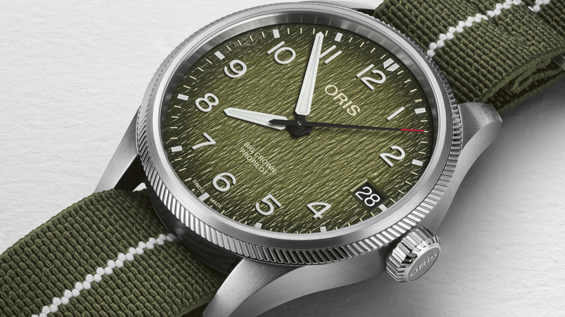 Oris produces another timepiece in its quest for change for the better