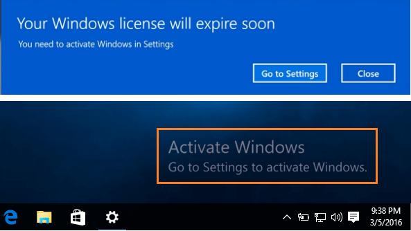 Sử dụng Windows không kích hoạt bản quyền có sao không?