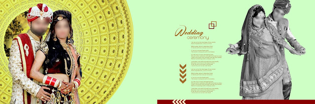 indian wedding album psd