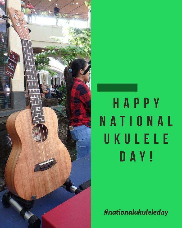 National Ukulele Day Wishes Sweet Images