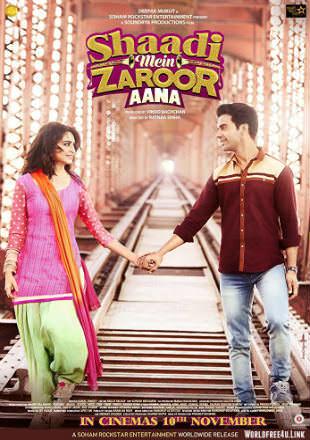 Shaadi Mein Zaroor Aana 2017 Full Hindi Movie Download HDRip 720p