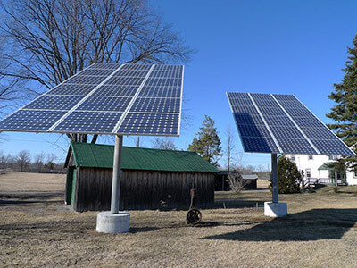 الألواح الشمسية
