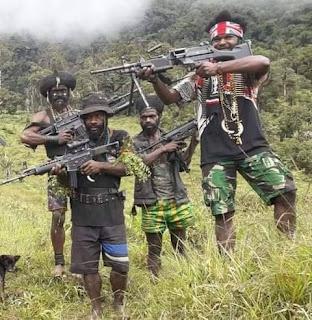 Serangan Fajar TPN PB Pagi ini di Post TNI Menembak MAti 10 Anggota TNI di Keneyam