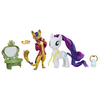 MLP the Movie Capper Dapperpaws & Rarity Styling Friends Set