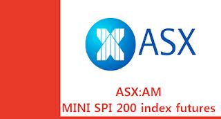 호주 주식 ASX:AP ASX:AM 호주증권거래소 200 지수 선물 시세 실시간 차트, CFD, ASX SPI 200™ index futures prices chart