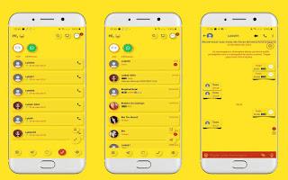 Yellow Theme For YOWhatsApp & Delta WhatsApp By Leidiane