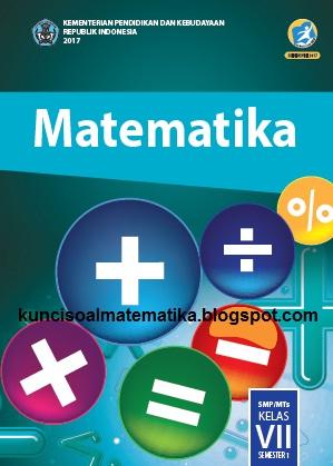kunci jawaban matematika kelas 7 buku paket smp kurikulum 2013 revisi 2017