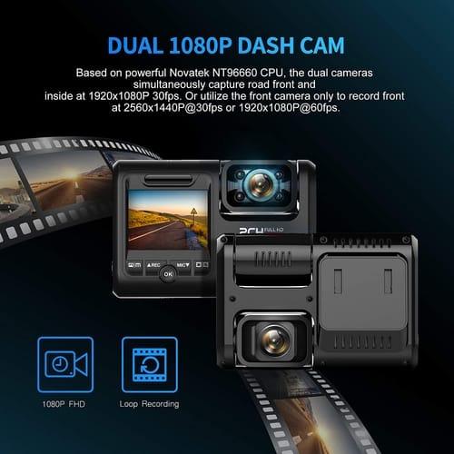 Review Pruveeo D30H WiFi FHD Dual Dash Cam