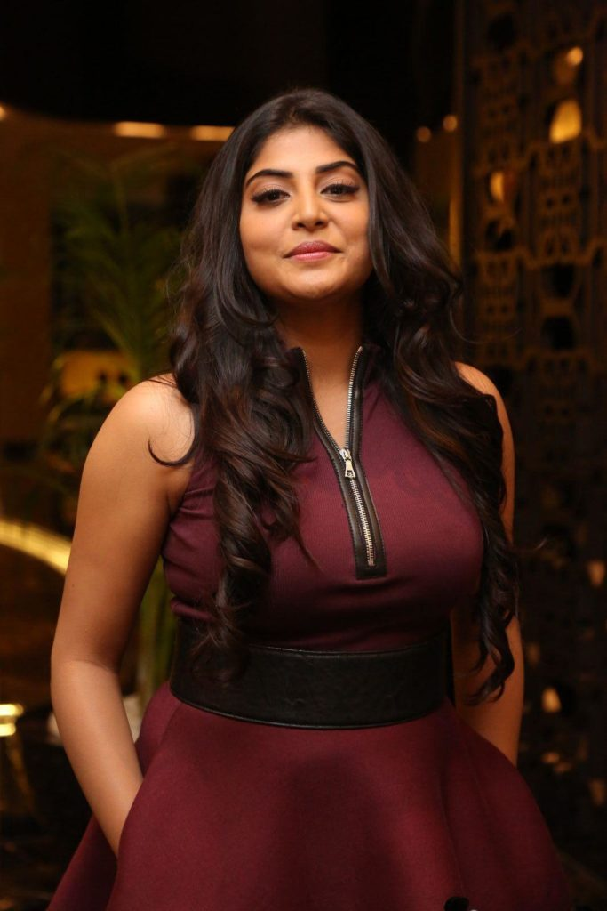 Manjima Mohan tight dress